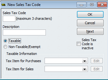 QB Managing Sales Tax 4